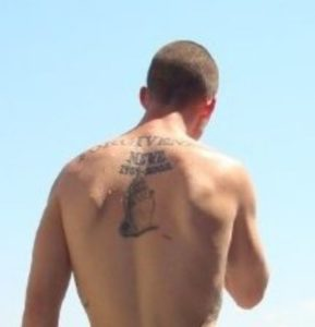Noah's tattoo