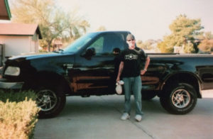 Noah and his truck